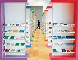 غرفه ترکیه در نمایشگاه بینالمللی کتاب فرانکفورت