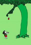تصوير كتاب «درخت بخشنده»