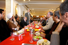 Book of the Year laureates meet with Hadad Adel