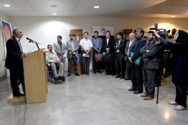 "Inauguration of the ""Night Shift Research"" service of the National Library of Iran"