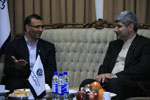 "Ramin Mehmanparast visits the head of TIBF  <img src=""/images/picture_icon.png"" width=""16"" height=""16"" border=""0"" align=""top"">"