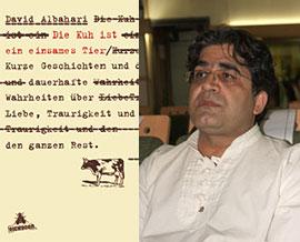 علی عبداللهی/تصویر روی جلد نسخه آلمانی کتاب