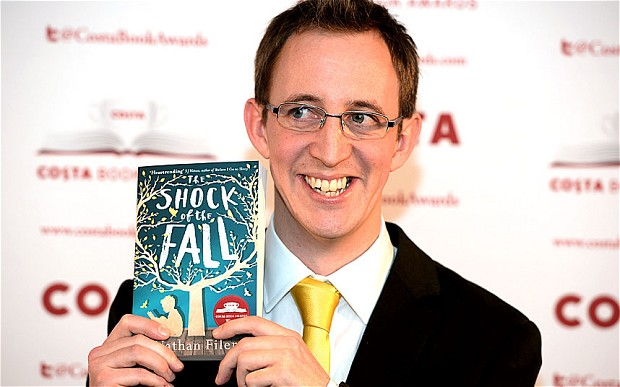 Nathan Filer Wins Costa Book of the Year