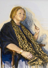 Hilary Mantel Portrait a Living First for the British Library