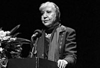 The late Simin Behbahani