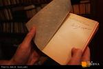 دستخط آل احمد روی کتابی که در تالیف «غرب زدگی» از آن استفاده کرده بود.