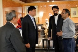 National Library of China's Director visits Malek Museum