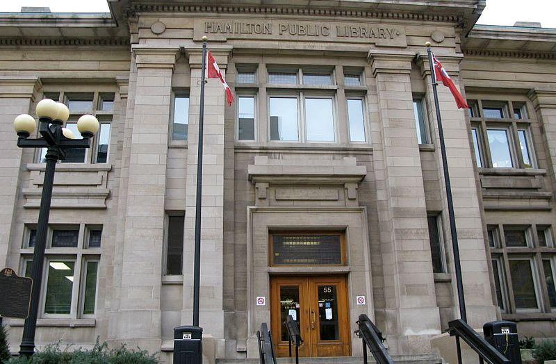 کتابخانه عمومی «هامیلتون» کانادا 125 ساله شد