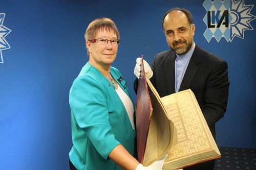 Two missing ancient Quran manuscripts delivered in Munich
