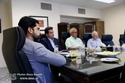 اعضای انجمن فرهنگی ناشران کتاب دانشگاهی با مدیرعامل خانه کتاب دیدار کردند