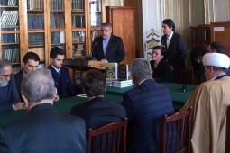 مرکز مطالعات میراث مکتوب ایران و اسلام در سنپترزبورگ افتتاح شد