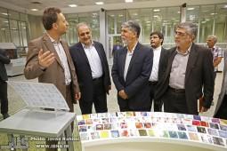 بازدید سیدعباس صالحی از 4 چاپخانه