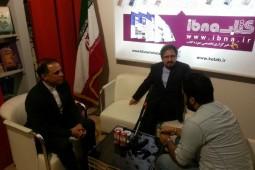 بازدید سخنگوی وزارت امور خارجه از غرفه خانه کتاب
