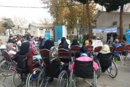 آیین روز کتاب در آسایشگاه معلولین شهید فیاضبخش برگزار شد