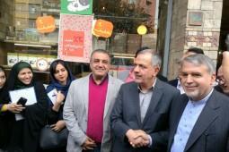 بازدید مسجدجامعی از بازارچه کتاب خیابان حاج نائب