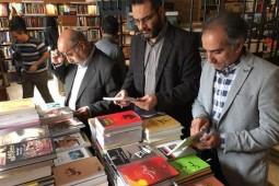 کتابگردی کارکنان موسسه نمایشگاههای فرهنگی ایران