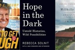 افزایش فروش کتب سیاسی پس از انتخابات ریاست جمهوری در آمریکا