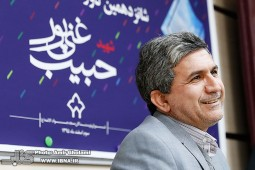 نشست خبری کتاب سال شهید حبیب غنیپور