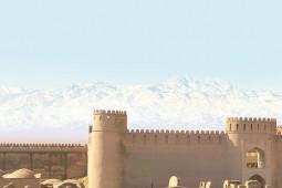 شکوه غروب آفتاب بم و مهماننوازی کرمانیها به روایت سیاح انگلیسی
