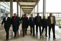 بازدید سید عباس صالحی از روند آمادهسازی شهرآفتاب
