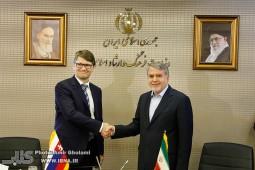 دیدار وزیر فرهنگ و ارشاد ایران با وزیر فرهنگ اسلواکی