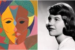نقاشیها و طرحهای سیلویا پلات رونمایی شد