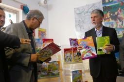 زنگ کتابخوانی با حضور دو وزیر به صدا درآمد