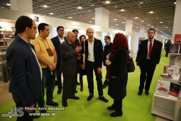 Iranian deligation visits French