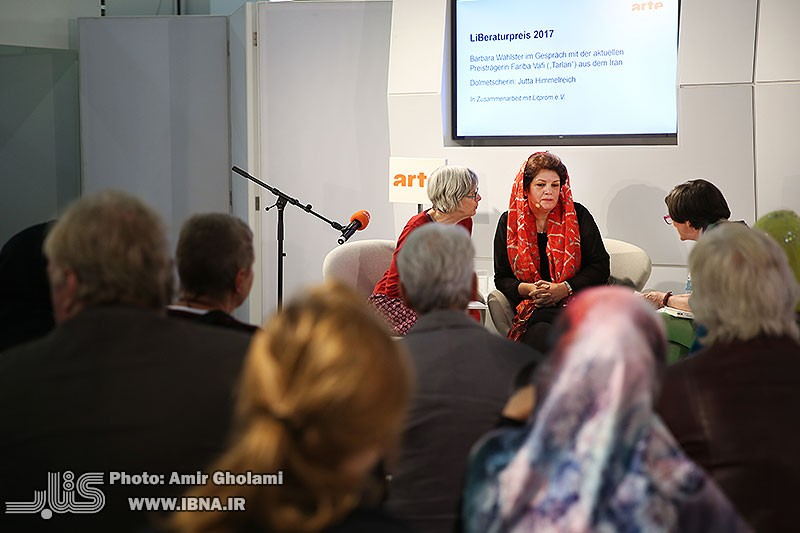 Noted Iranian writer Fariba Vafi interviewed by ARTE