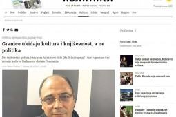 گفتوگوی برزگترین روزنامه صربستان با محمدرضا بایرامی
