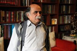دیدار با جلالالدین کزازی در هفته کتاب