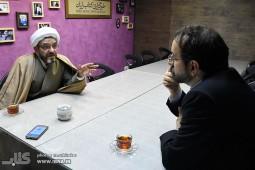 حضور حجت الاسلام ایزدپناه در خبرگزاری کتاب