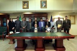 امضای تفاهمنامه همکاری میان سازمان اسناد و کتابخانه ملی ایران و پژوهشگاه علوم انسانی و مطالعات فرهنگی