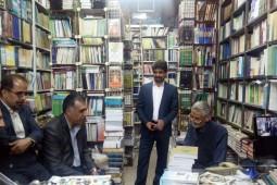 تجلیل از با سابقهترین کتاب فروش پایتخت کتاب با نیم قرن سابقه فعالیت