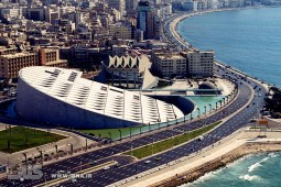 کتابخانه اسکندریه مصر / گزارش تصویری