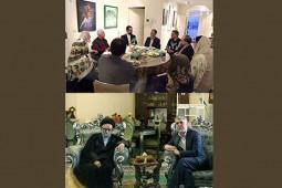 دیدار سید عباس صالحی با محمدباقر حجتی و حسین محجوبی