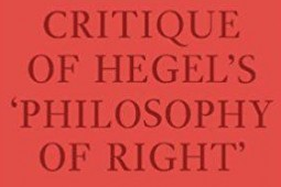 ترجمه کامل «نقد فلسفه حق هگل» برای نخستین بار به فارسی منتشر میشود