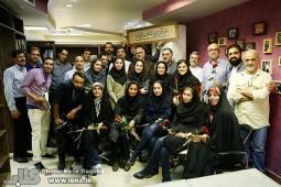 مراسم روز خبرنگار در خبرگزاری ایبنا