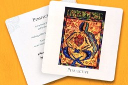 Rumi's poems in English presented as oracle cards ‎