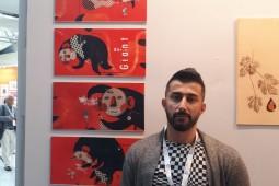 استقبال از تصویرگر ایرانی در نمایشگاه شانگهای/ رونمایی و نقد «پرنده آتشین» در چین