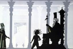 نمایش سایهبازی شاهنامه در فرانسه بر روی پرده میرود
