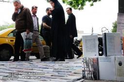ساماندهی دستفروشان کتاب در خیابان برادران مظفر