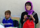 Japanese researcher, translator meets Iranian children