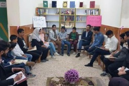 An Iranian young adult reading club