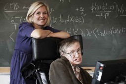 Stephen, Lucy Hawking's