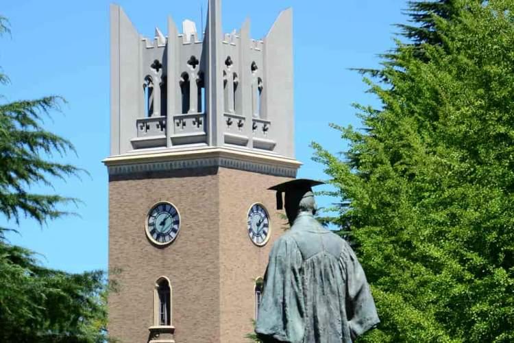 ساخت کتابخانه مدرن دانشگاه ژاپنی به افتخار هاروکی موراکامی