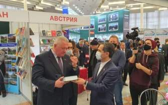 Irans stand shines at 28th Minsk International Book Fair