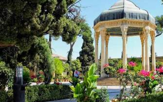 Mausoleum of Hafez in Shiraz