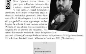 An Iranian in Encyclopedia of Contemporary Italian Poets‎